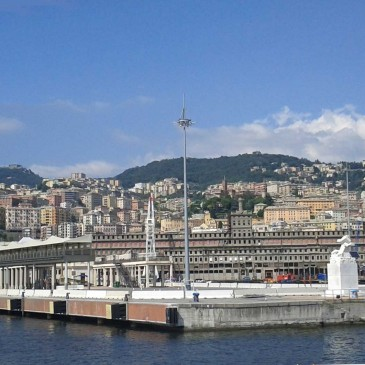 A Monument for Italian Emigrants — Genova