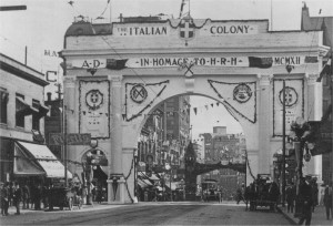 Vancouver Italians Welcome HRH 1912